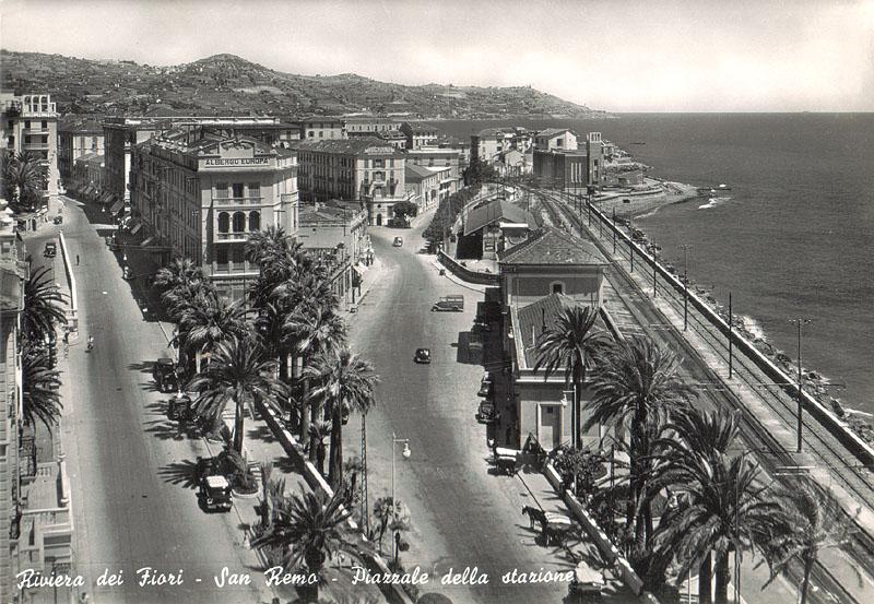 Stazione Sanremo Epoca vecchia ferrovia san lorenzo ospedaletti pista ciclabile