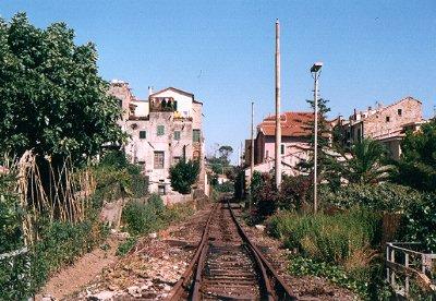 Stazione Santo Stefano al Mare vecchia ferrovia san lorenzo ospedaletti pista ciclabile