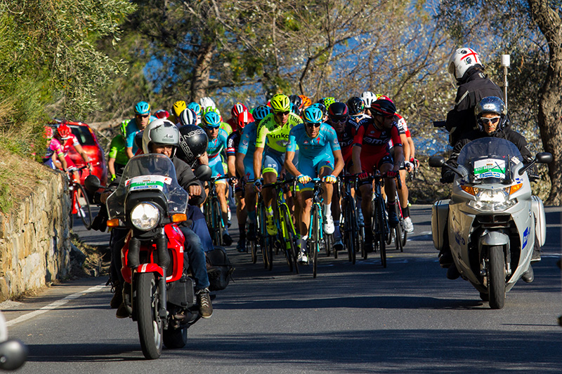 Sport: Milano-Sanremo bicycle race